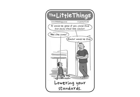 Thursday 14 August, The Little Things
