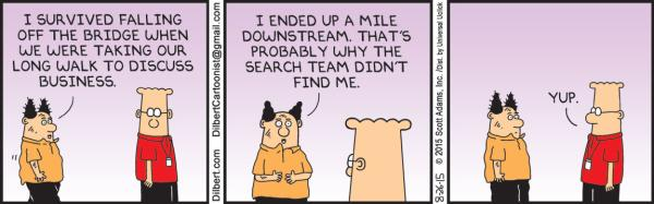 Wednesday, 26 August, Dilbert