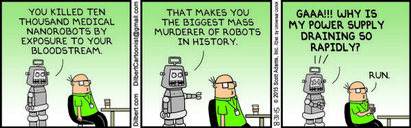 Monday, August 31: Robot murder