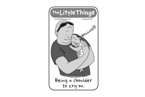 Thursday, September 10: A shoulder to cry on