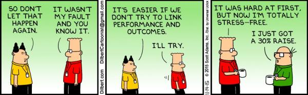 Dilbert, November 14, 2015 - stressed out