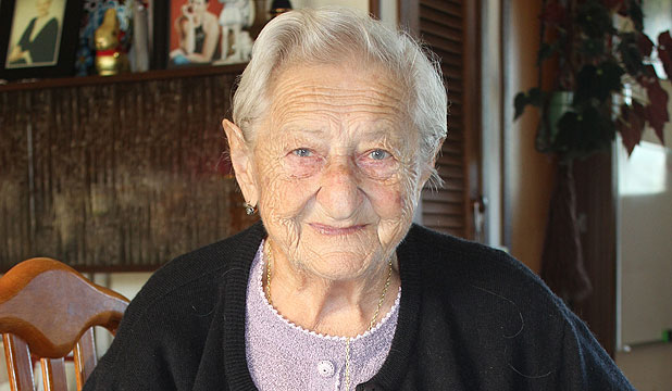 Yolanda Elliott, 90, of Taupaki can't praise New Zealand enough for its acceptance of her Italian culture.