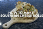 Celeb chef Nadia Lim whips up a deep south delicacy: Cheese rolls