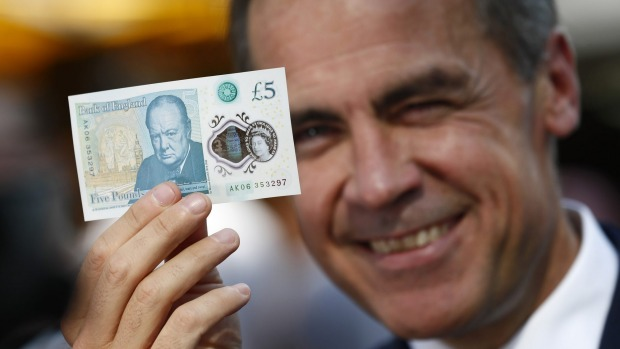 Vegans, vegetarians angry tallow animal fat used in Britain's new polymer banknotes