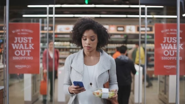 Amazon Go, Pick Up And Walk Out