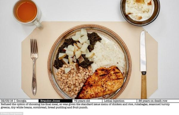 Meals to die for: Kiwi photographer captures last meals of executed ...