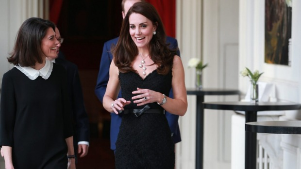 The duchess of cambridge ups her fashion game on paris visit