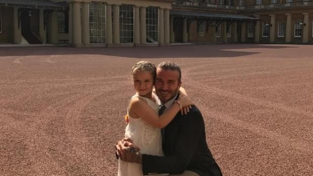 David Beckham's Daughter Had Her Birthday At Buckingham Palace