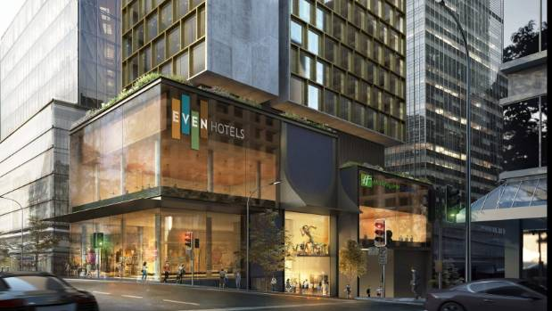 Intercontinental Hotels Group (NYSE:IHG) Lowered to