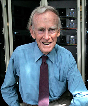 RADIO PIONEER: Angus Tait, who founded world-leading radio firm Tait Electronics, died today.