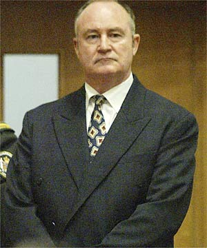 VERDICT IN: A jury has found former top cop John Dewar guilty of four charges of attempting to obstruct or defeat the course of justice in his handling of historic sex allegations.