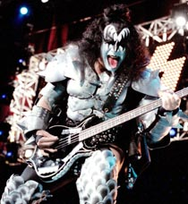 FACE THE MUSIC: A Kiss concert promises makeup and outfits to rival the rugby sevens at Westpac Stadium.