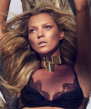 Lingerie label dumps Kate Moss for younger model  3f26f6635