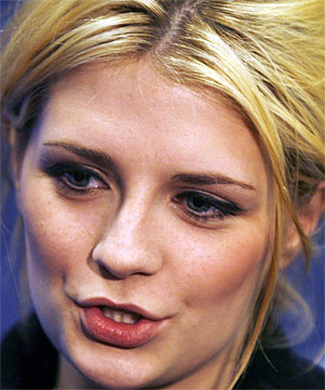 CAUGHT AGAIN: Actress Mischa Barton was charged with drunken driving, marijuana possession and driving without a licence.