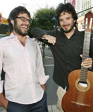 NEW SERIES: Flight of the Conchords' second season will air in America in January.
