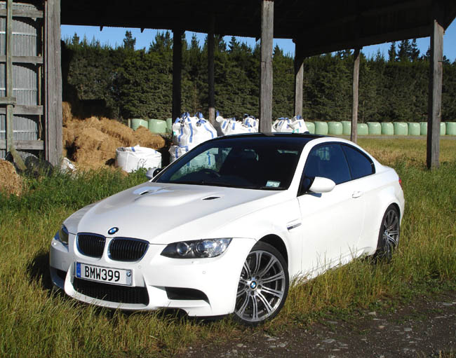 Outstanding in its field: the M3 looks like a 3-series coupe but uses on a fifth of its parts.