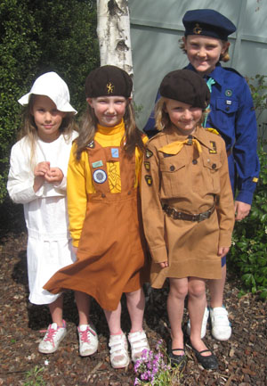 100 Years of Girl Guides