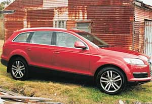 BOX OF TRICKS: Audi's Q7 SUV has many nifty uses for its on-board radar.