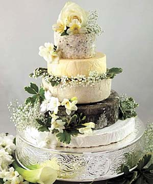 Cut The Cheese Is Growing In Pority As An Alternative To Fruitcake At Weddings