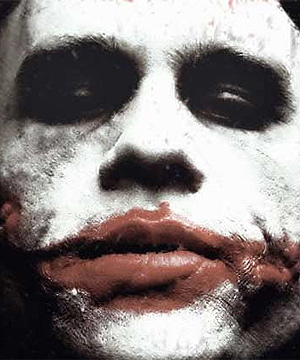 TOO GRUESOME? A scene showing late actor Heath Ledger in a body bag could be cut from the new Batman film, <i>A Dark Knight</i>.