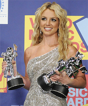 ON TOUR: Britney Spears says she plans to tour the world next year.