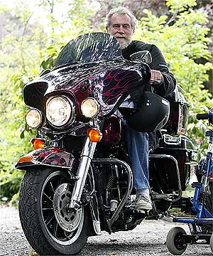 Harley Mobility Scooter Turns Heads Stuff Co Nz