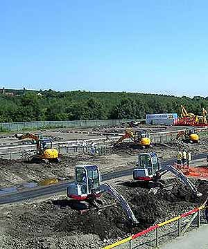 CAN YOU DIG IT? Children of all ages will enjoy Durham's Diggerland theme park.