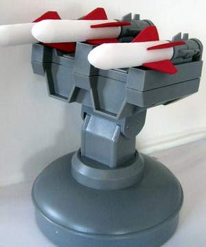 READY, AIM... This USB missile launcher will bring shock and awe to any workplace.
