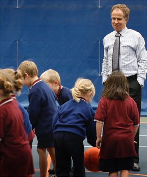 SKILLS SESSION: Sacred Heart School pupils give it heaps at Stadium Southland. The ILT built the giant facility and buses they city's children there.