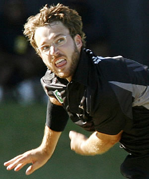 IN A SPIN: Black Caps Daniel Vettori has bagged a five wicket bag against Bangladesh to become New Zealand's highest wicket-taker in one-day internationals.