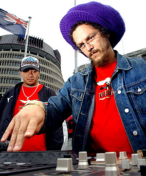 BEATS AT THE BEEHIVE: Nine years after his colourful entrance to Parliament, Nandor Tanczos bids farewell to his colleagues.
