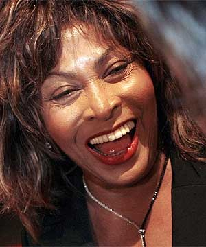 STAYING AT HOME: Tina Turner won't attend the funeral of her ex-husband Ike Turner, friends say.
