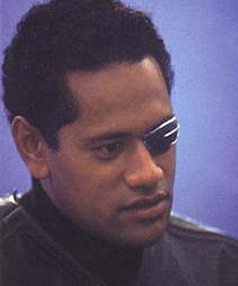 ACTION MAN: Jay Laga'aia as he appeared in the Star Wars prequals.