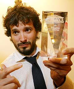 LOVE SOARS: Bret McKenzie of Flight of the Conchords has married his long-time girlfriend Hannah Clarke.