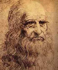 SOURCE OF FASCINATION: leonardo da Vinci.
