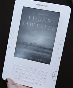iREAD: Amazon's Kindle 2 is one of many e-readers you can now buy.