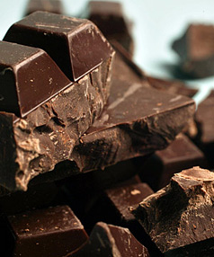 PLEASURE POTENTIAL: Chocolate may not go straight to the groin, but it does have genuine health benefits.