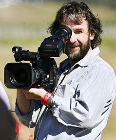 IN FOCUS: Kiwi film-making legend Peter Jackson trains his lens on the action during the Classic Fighters Airshow at Omaka.