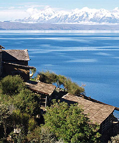 LAKE TITICACA: Peru is home to the highest navigable lake in the world.