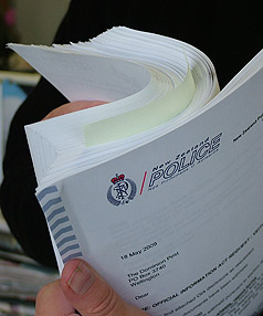 "VEITCH FILE: The 358-page document contains ""Version 1, Summary of Facts"" which was written to be presented in court by the Crown."