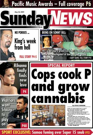 Sunday News Front Page, May 24