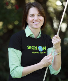 Worrier princess: Lucy Lawless has converted her eco concerns into an on-screen appeal.