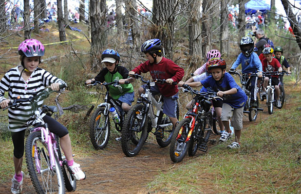 Image result for kids on mountain bikes