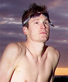 TRAGEDY: New Plymouth triathlete Cameron Clow has died in a cycling accident in Bahrain.