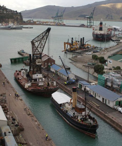ME TOO: Lyttelton Port of Christchurch will approach local councils and the Government to help fund a plan to extend one of its wharves to provide a dedicated cruise ship facility for visitors to the city.