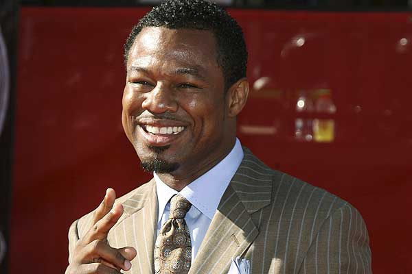 Boxer Shane Mosley on the red carpet ahead of the ESPY Awards ceremony taping in Los Angeles.