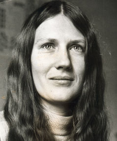Helen Clark, 1973: She liked to think of her look as 'Edwardian'.