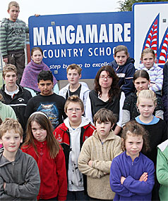 MANGAMARIE SCHOOL: Children have been writing letters to the Minister of Education.
