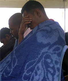 Tonga ferry disaster survivors