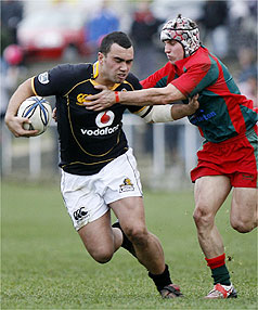UNTAPPED TALENT: Second-five Charlie Ngatai was a star on debut for Wellington against Hawke's Bay last weekend.